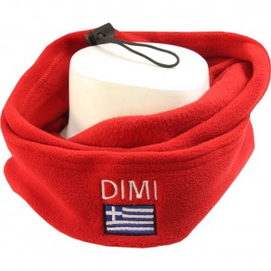 Keeper ID Neck Warmer Football Snood Red