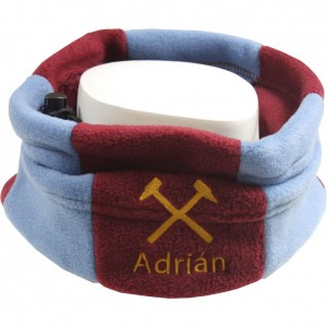 Keeper ID Neck Warmer Football Snood Claret/Blue