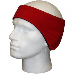 Keeper ID Ear and Head Warmer Black Red