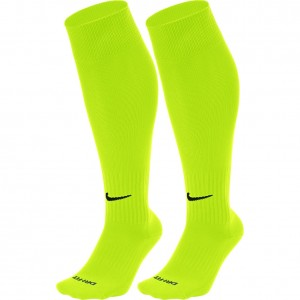 Nike Classic II Cushion Over The Calf Football Socks Volt Black