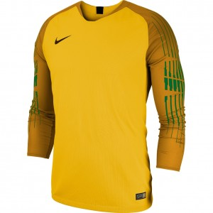 Nike Gardien Junior Goalkeeper Jersey Long Sleeve Yellow