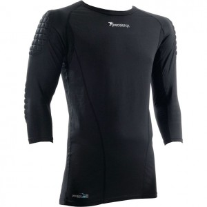 Precision Padded Base Layer Junior Goalkeeping Shirt (Black)