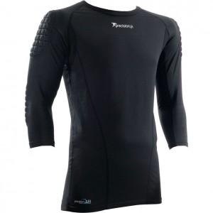 Precision Padded Base Layer Junior Goalkeeping Shirt (Black)