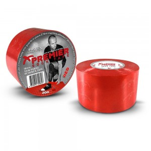 Premier Sock Tape 33mm SGR Wide Red