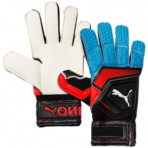 Puma One Grip 1 Flat Cut Goalkeeper Gloves