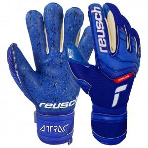Reusch Attrakt Fusion Guardian Finger Support Junior Goalkeeper Gloves