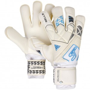 Sells Total Contact Aqua Ultimate Guard Junior Goalkeepers Gloves