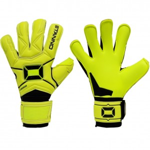 Stanno Hardground Hybrid Yellow Goalkeeper Gloves