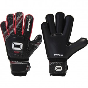 Stanno Nero 21 Roll Finger Junior Goalkeeping Gloves