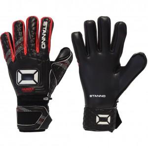 Stanno Thunder V NC Black JET Red FingerSave Goalkeeper Gloves