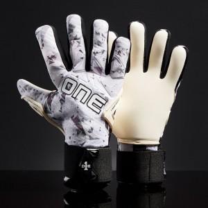 One SLYR Lite Arc Wolf Negative Cut Junior Goalkeeper Gloves
