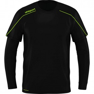 Uhlsport STREAM 22 Goalkeeper Shirt Black fluo Yellow
