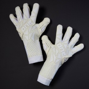 One GEO 3.0 VISION Whiteout Goalkeeper Gloves