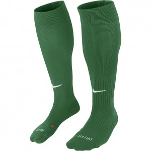 Nike Classic II Cushion Over The Calf Football Socks Green