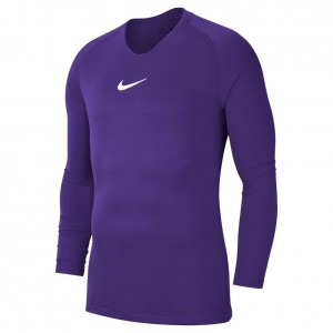 Nike Dry Fit Park First Layer LS Top Purple