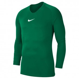 Nike Dry Fit Park First Layer LS Top Pine Green