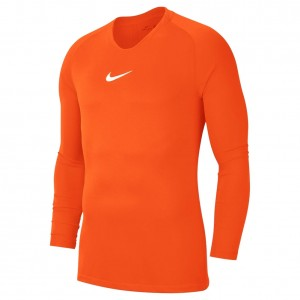 Nike Dry Fit Park First Layer LS Top Orange