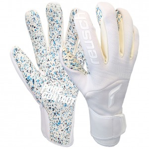 Reusch Pure Contact TotalWhite Goalkeeper Gloves