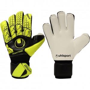 Uhlsport Eliminator Absolutgrip Bionik+ Finger Support Goalkeeper Gloves