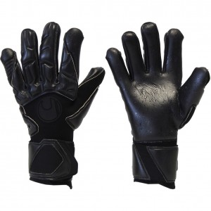 "Uhlsport Supergrip HN ""Blackout"" Goalkeeper Gloves"