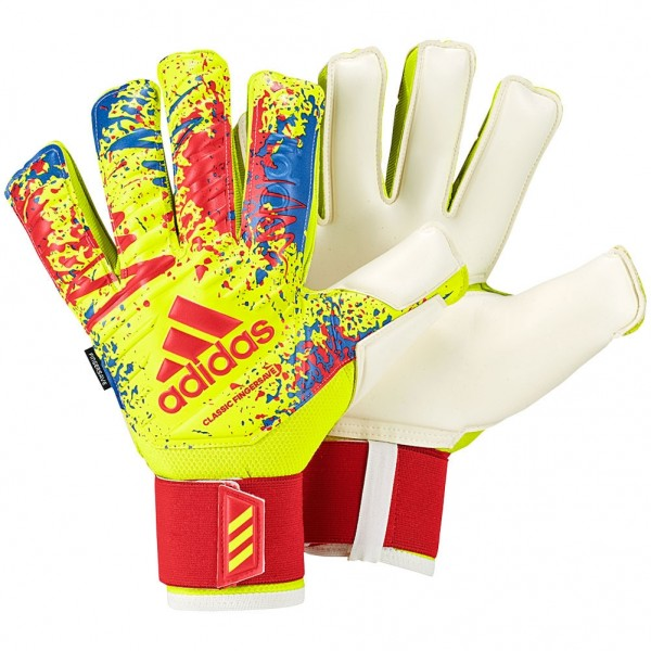 0311e5265 Adidas Predator Fingersave Pro Solar Yellow Goalkeeper Gloves - New Gloves