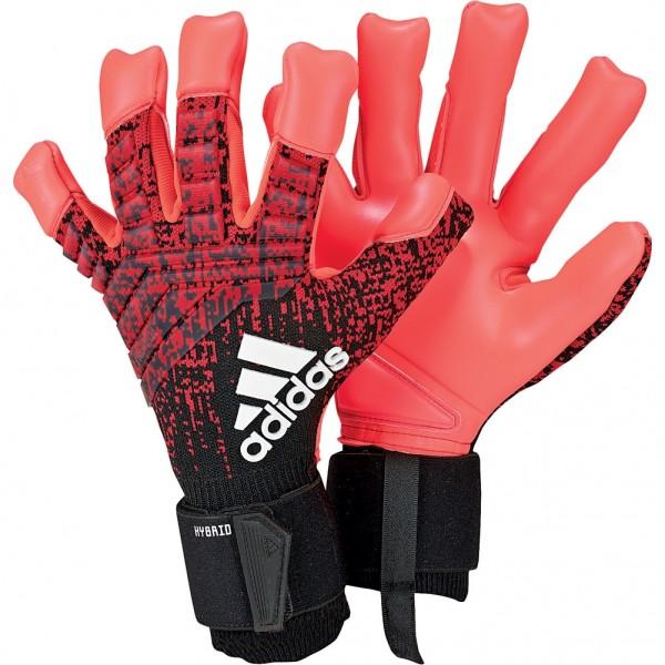 Adidas Predator Pro Hybrid Active Red Goalkeeper Gloves
