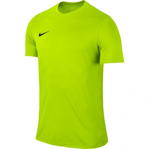 a498f3893 Nike Park IV Short Sleeve Goalkeeper Jersey Volt Black - Nike - Shop by  brand