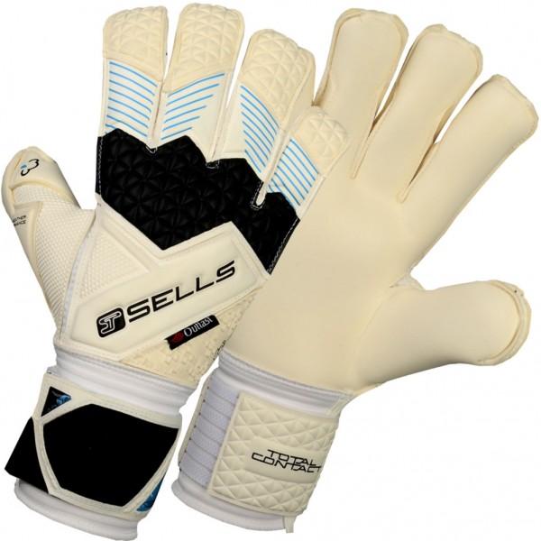 Sells Total Contact Aqua Flat Palm Goalkeeper Gloves
