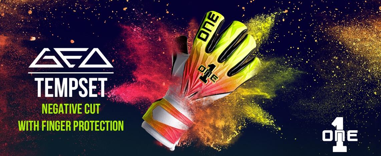 The One Glove Geo Tempest goalkeeper Gloves