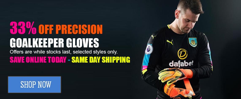 Precision Goalkeeper Glove Deals