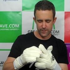 New Balance goalkeeper gloves video